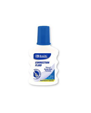 Correction Fluid 20Ml Bazic W/ Foam Brush
