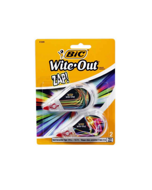 Correction Tape Bic Wite-Out Set 2