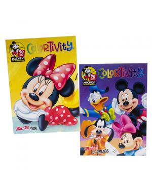 Kids Colouring Book - Mickey & Minnie