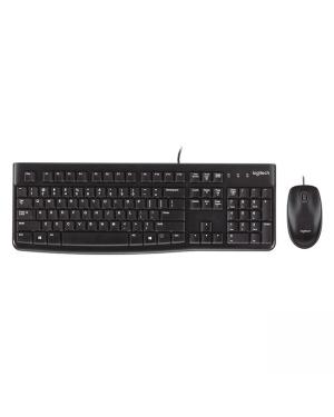 Logitech 920-002586 MK120 USB Keyboard & Mouse