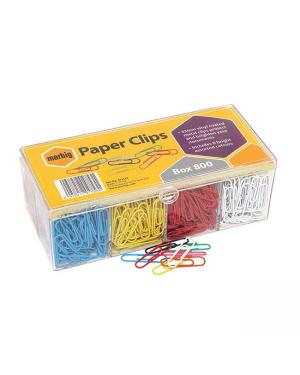 Asstd size paper clip 800/pk