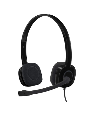 Logitech 981-000587 H151 Wired Stereo Headset