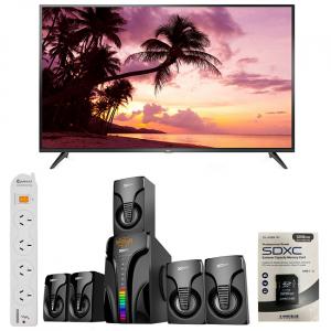 """TCL 50"""" SMART 4K TV 1920X1080 UHD LED BUNDLE @ ALOTAU BRANCH"""