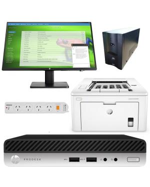 HP 7ZC32PA 400 G5 DM i3-9100T 4GB 500GB W10P BUNDLE@ ALOTAU BRANCH