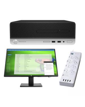 HP 8AG20PA 400 G6 SFF i5-9500 8GB 500GB DVD W10P BUNDLE@ ALOTAU BRANCH