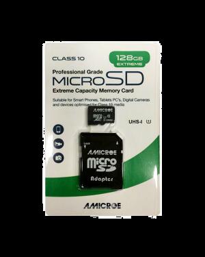 Amicroe AMI128GB-SDXC10 128GB SD XC Class 10 - U1 Memory Card