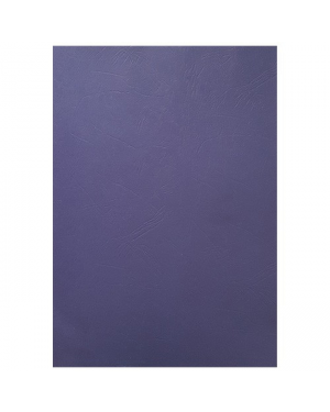 Cover A4 Leathergrain 280Gsm Blue Cumberland-Sold Per Piece