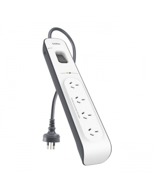 Belkin BSV400AU2M 4 Outlet With 2M Cord-Image 1