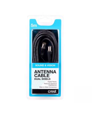 Crest CBDSC5M Antenna Cable Dual...