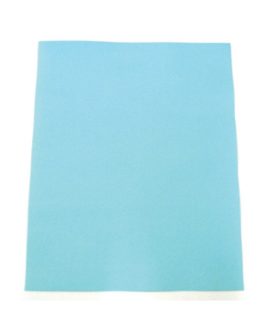 Cover A4 Optix Board 200Gsm Colourful Days Light Blue-Sold Per Piece