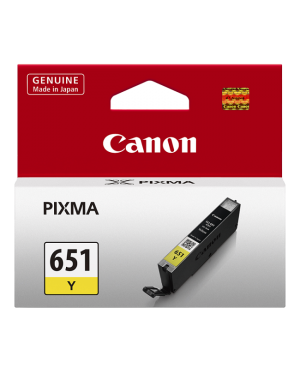 Canon CLI651Y Yellow Ink