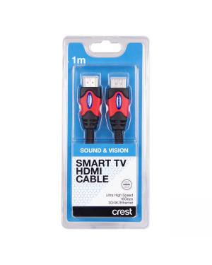 Crest CNA05079 Ultra Hs HDMI Cab W/Eth 1M