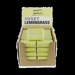 Scents of Nature Sweet Lemongrass Soap Bar 100g