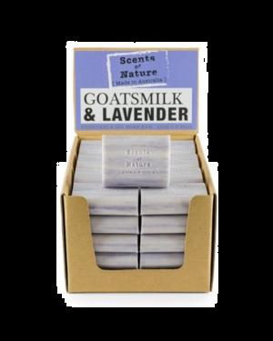 Scents of Nature Goatsmilk & Lavender Soap Bar 100g