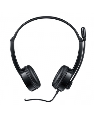 Rapoo H100-Black Wired Stereo Headsets-Image 2