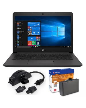 HP 245 3N480PA G7 A4-9125 14 8GB 256GBSSD W10H BUNDLE @ KOKOPO BRANCH
