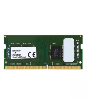 Kingston KVR21S15S8/4 4GB 2133MHz DDR4 Non-ECC CL15 SODIMM 1Rx8