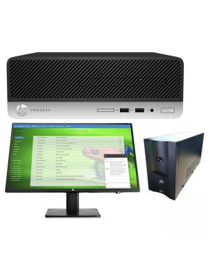 HP 8JT44PA Pro 400 G6 SFF i5-9500 8GB 256GB SSD W10P BUNDLE @ LAE BRANCH