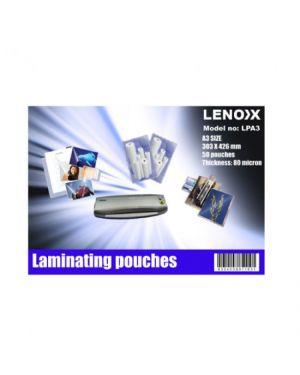 A3 LAMINATING POUCH 80 MIC LPA3 LENOX -SOLD PER PCS.