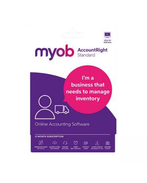 MYOB MASUB-RET-AU AccountRight Standard 1Yr Sub ESD