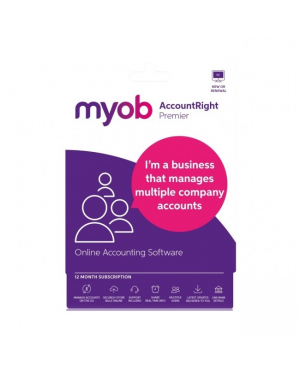 MYOB MUSUB-RET-A AccountRight Premier 1Yr Sub ESD