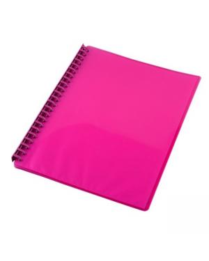 Display Book A4 20 Pocket Cumberland 28 Mic Pink