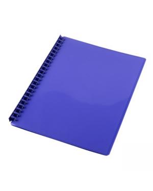 Display Book A4 20 Pocket Cumberland 28 Mic Purple