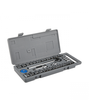 "1/4"" & 3/8"" 40 Pieces socket set-Image 1"