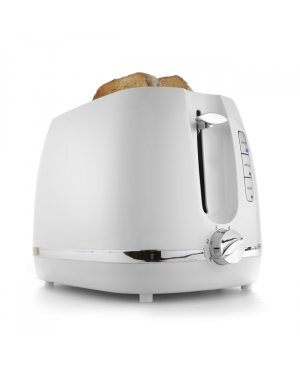 2 Slice Toaster-White