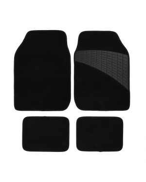 Set of 4 carpet car mats-Image 1