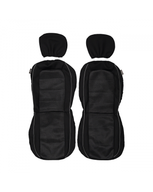 2 Front Seats Covers-Mesh