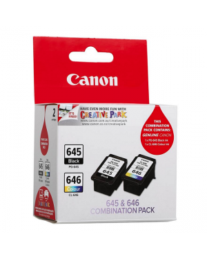 Canon PG645 CL646 Twin Pack Ink