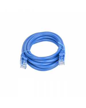 8Ware PL6A-2BLU Cat6a UTP Ethernet Cable 2m Snagless Blue