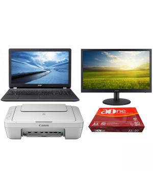 Acer NX.EFPSA.001 EX215-51K-361S i3-7020U 15.6 4GB 500GB W10H BUNDLE @ POM BRANCH