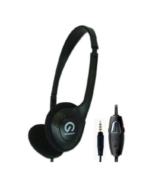 Shintaro SH-106M Stereo Headset WIth Inline Mic-Image 2