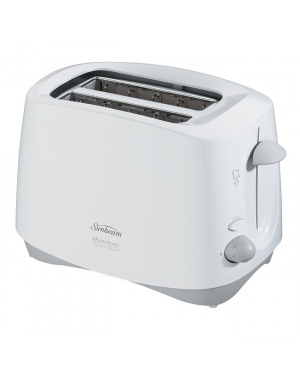 Sunbeam Toaster TA4200, Toaster, Quantum 2 Slice, Cool Touch White