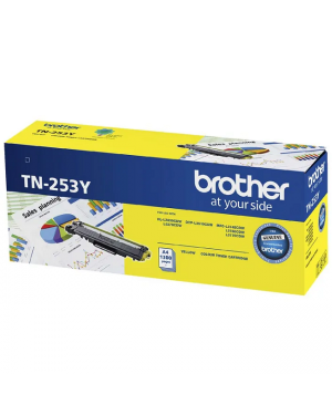 Brother TN-253Y Yellow Toner